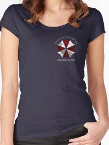 Resident Evil Umbrella corporation design Women's Fitted Scoop T-Shirt