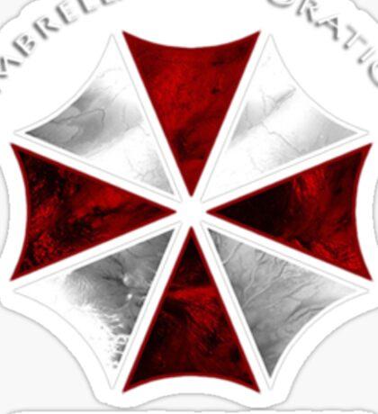 Resident Evil Umbrella corporation design Sticker