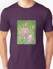 Irises, Wisley Gardens, Surrey T-Shirt