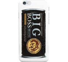 Big Boss Iced Coffee iPhone Case/Skin