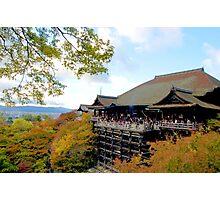 Kiyomizu Temple, Kyoto Photographic Print