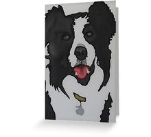 Jake the Sheep Dog Greeting Card