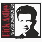 RICK ASTLEY - 1987 WORLD DOMINATION TOUR by Hendrie Schipper