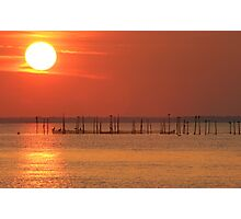 Point Lookout at Sunset Photographic Print