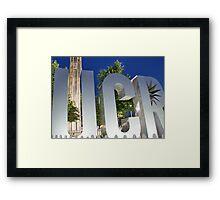 University California Riverside, USA Framed Print