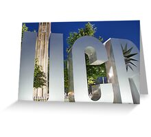 University California Riverside, USA Greeting Card