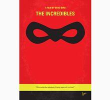 No368 My Incredibles minimal movie poster T-Shirt