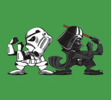 Fighting Empire - Fighting Irish Mashup with Stormtrooper and Vader Kids Clothes