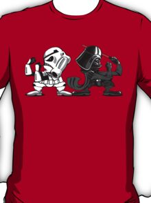 Fighting Empire - Fighting Irish Mashup with Stormtrooper and Vader T-Shirt