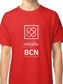 Barcelona (BCN) Panots. Classic T-Shirt