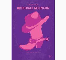 No369 My Brokeback Mountain minimal movie poster T-Shirt