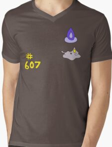 Pokemon 607 Litwick Mens V-Neck T-Shirt