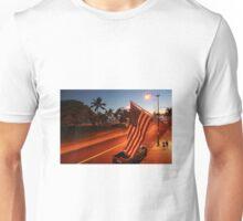 Waikiki Beach by Night, Honolulu OAHU Unisex T-Shirt