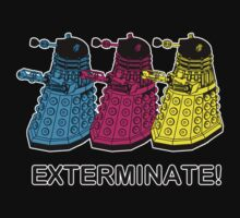 Daleks by Namueh