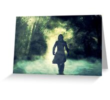 Severus Snape - Lone Path Greeting Card