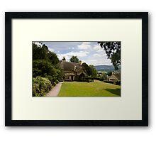Selworthy Lawn, Exmoor Framed Print