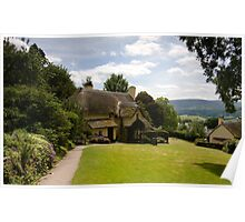 Selworthy Lawn, Exmoor Poster