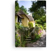 Selworthy Village, Exmoor Canvas Print