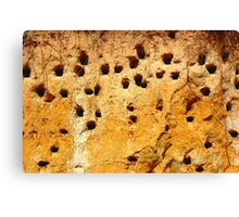abstract sand texture Canvas Print