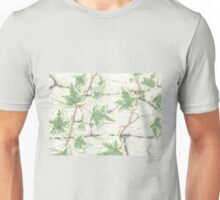 Ivy on a Dry Stone Wall Unisex T-Shirt