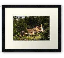 Selworthy Village Shop, Exmoor Framed Print
