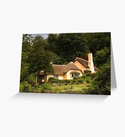 Selworthy Village Shop, Exmoor Greeting Card