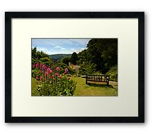 Selworthy, A Time to Reflect, Exmoor Framed Print