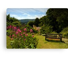 Selworthy, A Time to Reflect, Exmoor Canvas Print