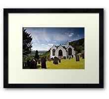 Selworthy Village Church, Exmoor Framed Print