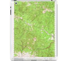 USGS Topo Map Oregon Bates 282238 1951 62500 iPad Case/Skin