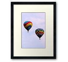 Colorful Giants Framed Print