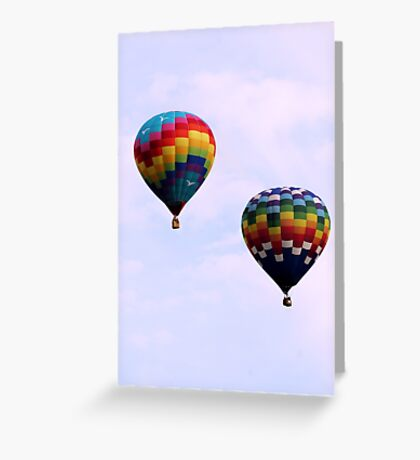 Colorful Giants Greeting Card