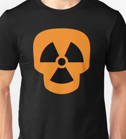 Radiation Skull Unisex T-Shirt