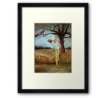 """Stilled Life"" a new take on Eve and the Garden of Eden Framed Print"