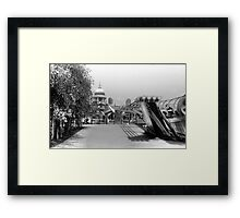St Pauls Cathedral - Millenium Bridge, London Framed Print