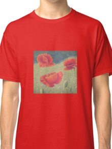 Poppies in Flanders Fields Classic T-Shirt