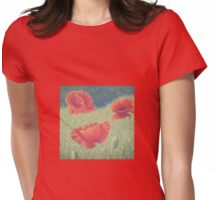 Poppies in Flanders Fields Womens Fitted T-Shirt