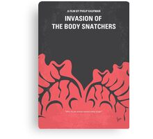 No374 My Invasion of the Body Snatchers minimal movie Canvas Print