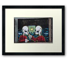 Does anyone fancy a cuppa? Framed Print