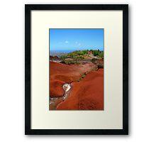 Haleakala, Maui, HAWAII Framed Print