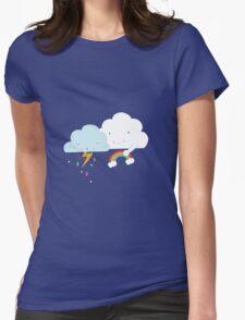 Get well soon little cloud Womens Fitted T-Shirt