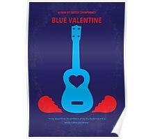 No379 My Blue Valentine minimal movie poster Poster