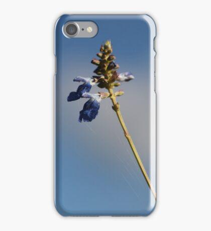 blue against blue iPhone Case/Skin