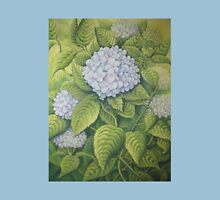 Hydrangeas at Lanhydrock, Cornwall Womens Fitted T-Shirt