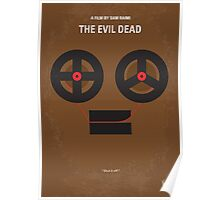 No380 My The Evil Dead minimal movie poster Poster