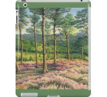 Evening Sun, Surrey Hills Pine Trees iPad Case/Skin