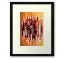 The Throbbing of Pain Framed Print