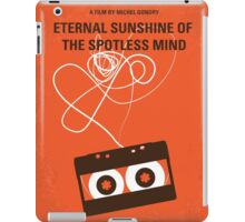 No384 My Eternal Sunshine of the Spotless Mind minimal movie poster iPad Case/Skin