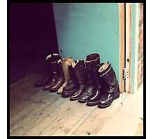 THESE BOOTS Photographic Print