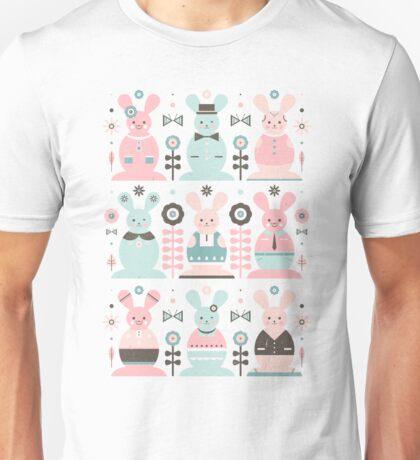 Pink Sugar Gingerbread Rabbits T-Shirt